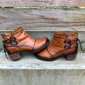 Pikolinos Les Man Brown Ankle Boots